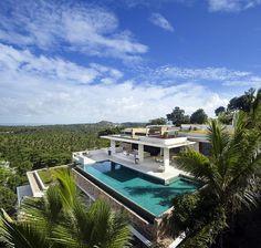 Samujana Villa in Koh Samui, Thailand by Gfab Architects