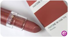 """hi beauties, the Pantone colour of the year 2015 is """"marsala"""": an earthy bordeaux, which looks especially gorgeous on your lips. why don't you give our lipstick """"31 glamour queen"""" a try?  what do you think of the colour """"marsala""""?  #essence #colouroftheyear #pantone #marsala #lips #lipstick"""