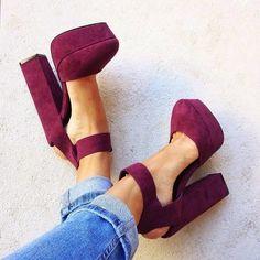 Zapatos, plataforma