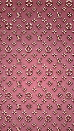 LV pink wallpaper