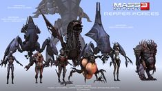 reapers mass effect - Google Search