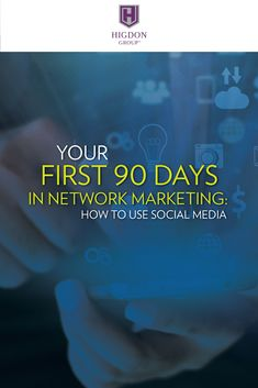 Ready to get results in 90 days?Here my wife and social media recruiting expert, Jessica Higdon shares exactly how to use Social Media to build your network marketing business in your first 90 days.