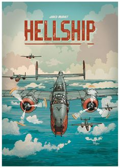 "dsgn-me: ""Hellship (by Jared Muralt) ""Muralt's penchant for history and caricature is perhaps most evidenced in his long-term comic book project, Hellship. Detailing scenes from WWII, the comic tells a historical and action-packed account of battle,..."