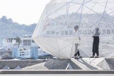 Sou Fujimoto's Naoshima Pavilion Photographed by Laurian Ghinitoiu