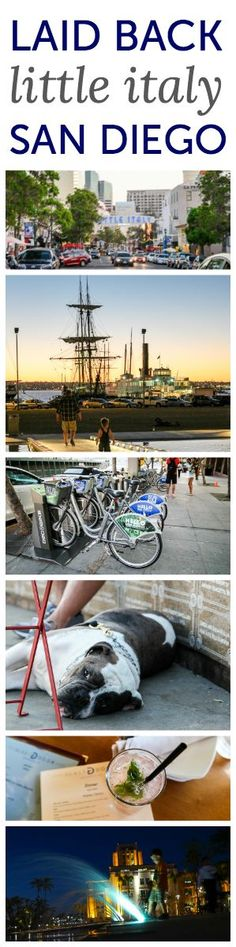 Little Italy San Diego - kid-friendly family fun in the city. Enjoy during this summer's road trip!