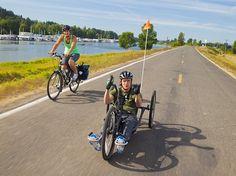 Quadriplegic man, partner riding 10,000 miles to Patagonia