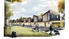 Modern Housing - - Pin to Pin Modern Architecture House, Architecture Design, Peabody Housing, Twilight House, Winchester Hampshire, Urban Design Plan, Bathroom Design Layout, Architecture Drawing Sketchbooks, Social Housing