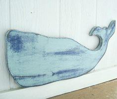 Nautical+Wall+Decor | nautical beach decor whale wood wall art by folkybirdsandfish