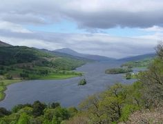 Tour Scotland: February 2008...Loch Tummel.