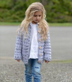Frilly toddler cardigan pattern pale rose crochet crochet and dusklyn sweater pattern by heidi may fandeluxe Gallery