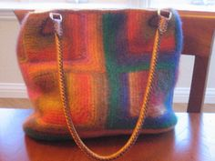 Additional Materials: Bamboo purse handles.