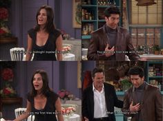 Ross and Monica. GREAT scene.
