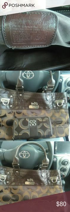 Coach purse and wallet Barely used Coach purse and wallet Coach Bags