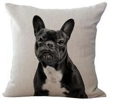Absolutely adore this Frenchie & Bulldog Pillow. This will be an excellent addition to your decor. Grab yours today! Material: Polyester / Cotton Name: Cushion Cover Weight: 90 to 110g Coat Natural co