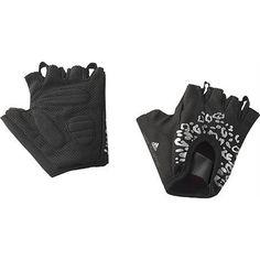 #Adidas #StellaMcCartney Women's Studio Gloves Work out #Gym Padded lepard print