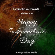 #Grandiose wishes you a very Happy Independence Day..