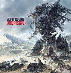 Sly & Robbie – Dubrising [2014]. More - http://reggaealbumcovers.com/sly-robbie-dubrising-2014/