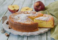 TORTA DI MELE E RICOTTA INVISIBILE ricetta senza burro e olio, pochi ingredienti, pochi grassi, morbidissima e profumata, una torta alla mele facilissima