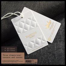 Oem custom logo merk kledingstuk kleding gedrukt papier prijs hang tag tags voor kleding kleding printing swing bagage labels tags(China (Mainland))