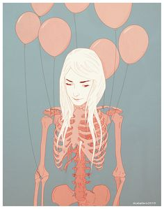 Pink Ribs by D. Caballero