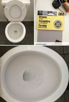 trick to clean hard water stains