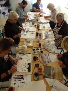 """workshop """"pen en inkt"""" 23/11/13"""