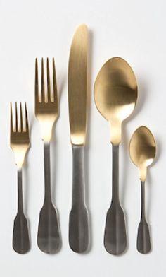 pretty gold dipped flatware http://rstyle.me/n/jnhkzr9te