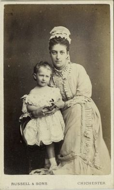 Princess Maud (Maud Charlotte Mary Victoria) (1869-1938) of Wales, UK. 5th child of Edward VII (1841-1910) & Alexander of Denmark (1844–1925) as a young girl.