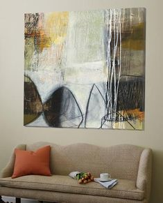 Abstract Pebble I-Jane Davies-Loft Art Contemporary Abstract Art, Abstract Landscape, Modern Art, Abstract Paintings, Contemporary Artists, Landscape Paintings, Art Inspiration Drawing, Art Drawings, Jane Davies