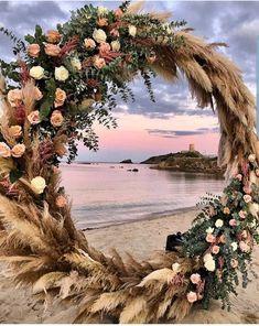 Boho wedding on the beach – Wedding Wedding Trends, Wedding Designs, Boho Wedding, Floral Wedding, Wedding Styles, Rustic Wedding, Dream Wedding, Wedding Ideas, Wedding Reception