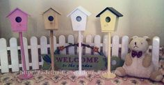 My bird house collections.. ^^