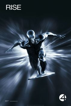 Fantastic Four: Rise of the Silver Surfer: Extra Large Movie Poster Image - Internet Movie Poster Awards Gallery
