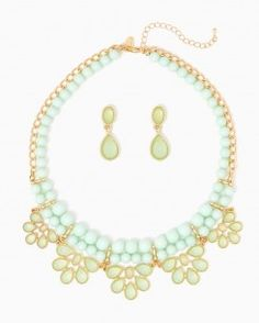 Jewelry | Spring Statement Necklaces and Earrings | charming charlie