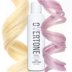 oVertone Pastel Purple Daily Conditioner is a damage-free way to add color to your hair and keep the color looking fresh 24/7.