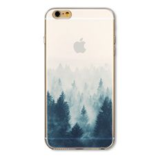 Foggy Wood iPhone Case