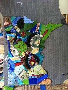 Teaching mosaics Visit kimgrantmosaics.wordpress.com