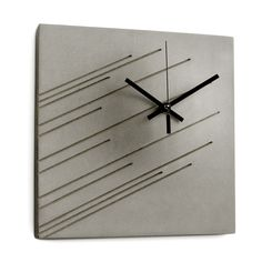 Concrete Impression Wall Clock  By Marit Meisler