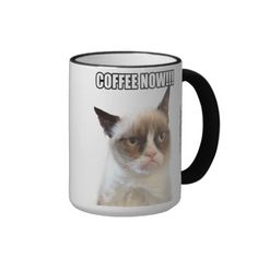 Grumpy Cat™ COFFEE NOW!!! Mug I love grumpy cat
