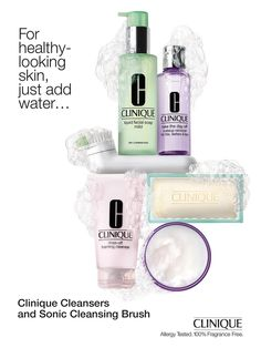 Clinique Skincare Advertising
