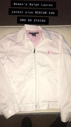 e1e2037bcb Polo White Sports Women Jacket  fashion  clothing  shoes  accessories   womensclothing