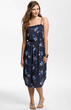 Frenchi® Shirttail Hem Midi Dress (Juniors) available at #Nordstrom