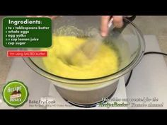 Easy Lemon Curd Recipe / Lemon Filling Recipe Step by step instruction from beginning to end. We'll be using this delicious lemon curd in a lemon strawberry fruit tart.  Are you a mobile user ? Here are the video links you'll find at the end of this video: Lemon Strawberry Fruit Tart Recipe  http://youtu.be/dWiwvoyQz0U  Sweet Tart Dough Recipe / Sweet Pie Dough Recipe http://youtu.be/IZFF7DGm144
