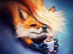 Animals And Pets, Baby Animals, Cute Animals, Cute Animal Drawings, Cute Drawings, Fuchs Baby, Fuchs Tattoo, Fox Drawing, Fox Illustration