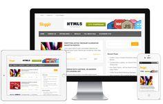 Bloggie A Free Responsive Standard Blog WordPress Theme