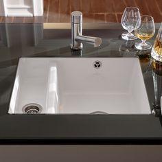 undermount porcelain kitchen sink ... View All Undermount Kitchen Sinks ‹ View All 1.5 Bowl Ceramic Sinks