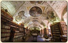 Prague castle library