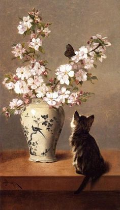 petitpoulailler: poboh: ca 1870 John Henry Dolph (American 1835-1903) ~ The Butterfly
