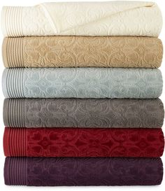 I m always on the lookout for good price on towels because I always need  them.these ROYAL VELVET Royal Velvet Verona Sculpted Bath Towel Collection  are ... ba9903c54
