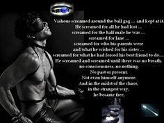 BDB ~ Vishous-One of the most memorable scenes from all the books!