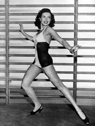 Ann Miller, one of the greatest tap dancers in my book...and so beautiful!